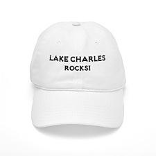 Lake Charles Rocks! Baseball Cap