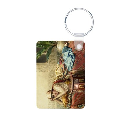 An Idle Afternoon Aluminum Photo Keychain