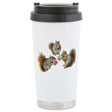 Squirrels Poker Travel Mug