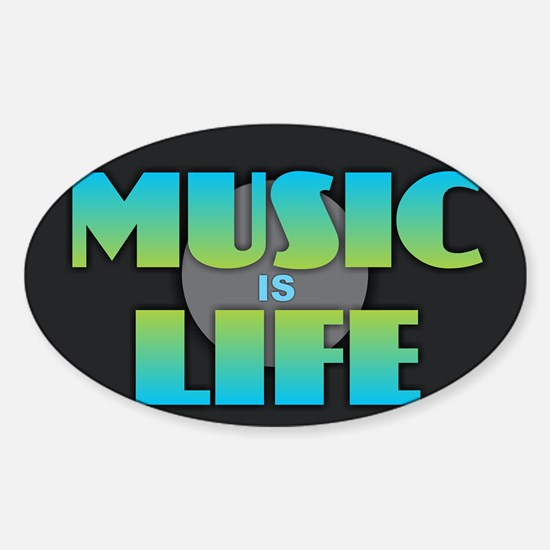 MUSIC is LIFE Decal