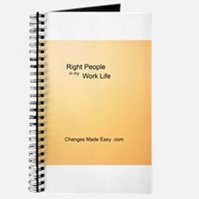 Bring the Right People into your Work Life Journal