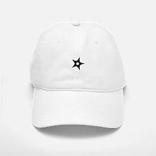 small dark star Baseball Baseball Cap