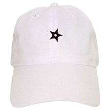 small dark star Baseball Cap