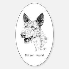 Ibizan Hound Decal