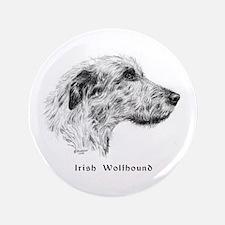"""Irish Wolfhound 3.5"""" Button"""