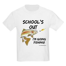 School's Out Trout Kids' T-Shirt