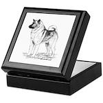 Norwegian Elkhound Keepsake Box