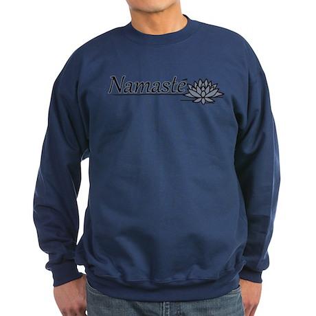 Namaste Lotus Dark Sweatshirt
