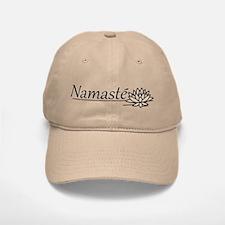 Namaste Lotus Baseball Baseball Cap