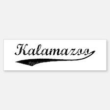 Vintage Kalamazoo Bumper Bumper Bumper Sticker