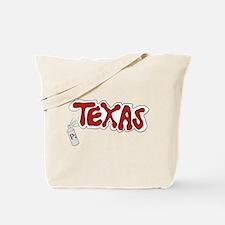 Sprayed Texas Tote Bag