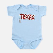 Sprayed Texas Infant Bodysuit