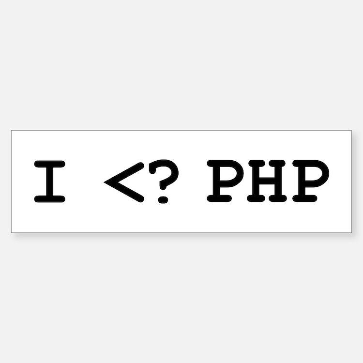 I Heart? PHP
