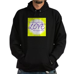 ACIM-Real Miracle is Love Hoodie