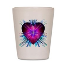 Electric Heart Shot Glass
