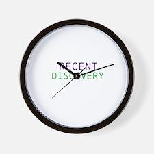 Funny Recent Wall Clock