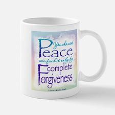 ACIM-You Who Want Peace Mug