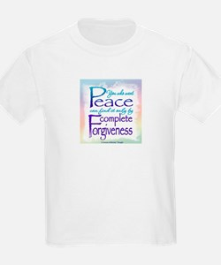 ACIM-You Who Want Peace T-Shirt