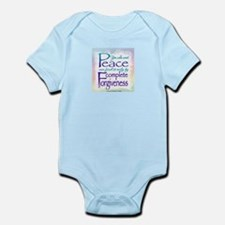 ACIM-You Who Want Peace Infant Bodysuit