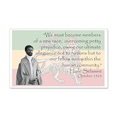 Haile Selassie Wall Decal