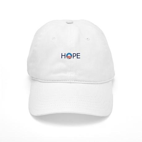 Hope Blue Text Cap
