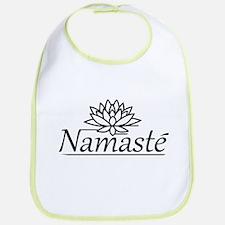 Lotus Namaste Bib