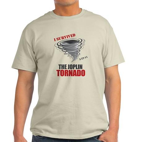 I Survived Joplin Tornado Light T-Shirt
