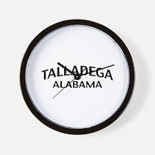 Talladega Alabama Wall Clock
