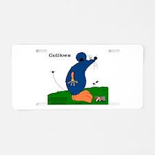 Gulliver The Rat Aluminum License Plate