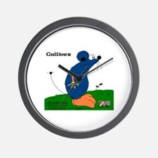 Gulliver The Rat Wall Clock