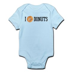 I donut DONUTS Infant Bodysuit