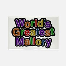 World's Greatest Mallory Rectangle Magnet