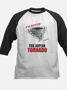 I Survived Joplin Tornado Kids Baseball Jersey