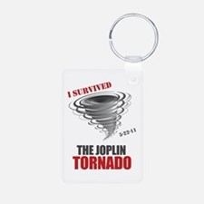 I Survived Joplin Tornado Keychains