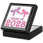 2028 Girls Graduation Keepsake Box