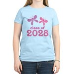 2028 Girls Graduation Women's Light T-Shirt