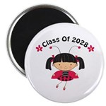 2028 School Class ladybug Magnet