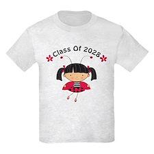 2028 School Class ladybug T-Shirt