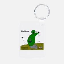 Gulliver The Rat Aluminum Photo Keychain