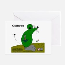 Gulliver The Rat Greeting Card