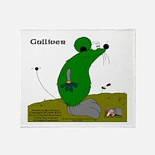 Gulliver The Rat Throw Blanket