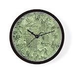 Clock face distressed Wall Clock