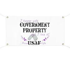 Tamper w Gov Property AF Wife Banner