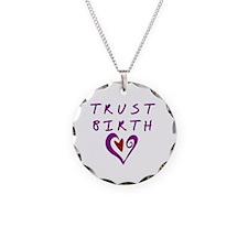 Trust Birth Necklace