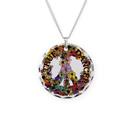 True Dancer Necklace Circle Charm