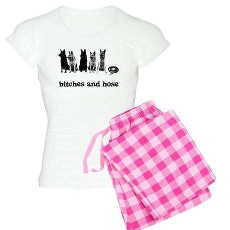 Bitches And Hose Shirt Women's Light Pajamas