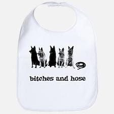 Bitches And Hose Shirt Bib