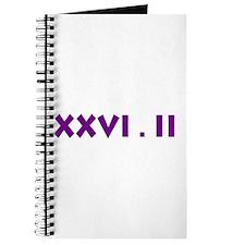 XXVI.2 Sans Serif Journal