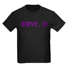 XXVI.2 Sans Serif T