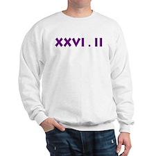 XXVI.2 Sans Serif Sweatshirt